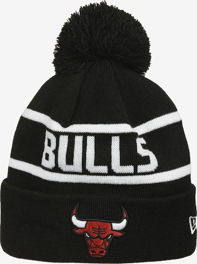 NEW ERA NBA Chicago Bulls Team Jake Beanie in rot / schwarz / weiß, Produktansicht
