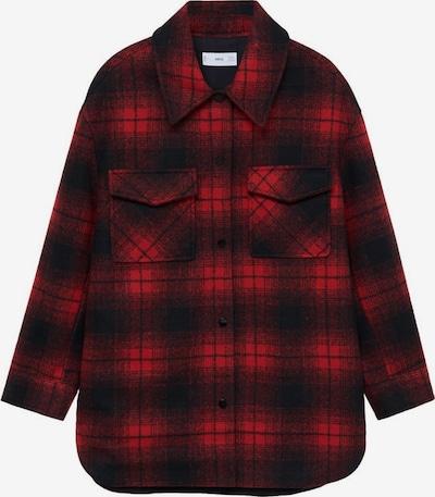 MANGO Jacke 'Blanch' in rot / feuerrot / schwarz, Produktansicht