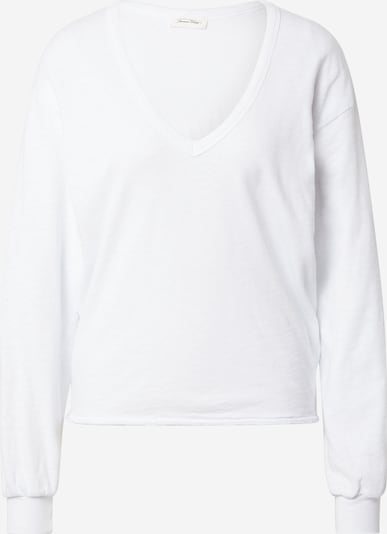 AMERICAN VINTAGE Sweatshirt 'Sonoma' i hvit, Produktvisning