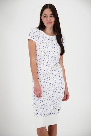Alife and Kickin Dress in White