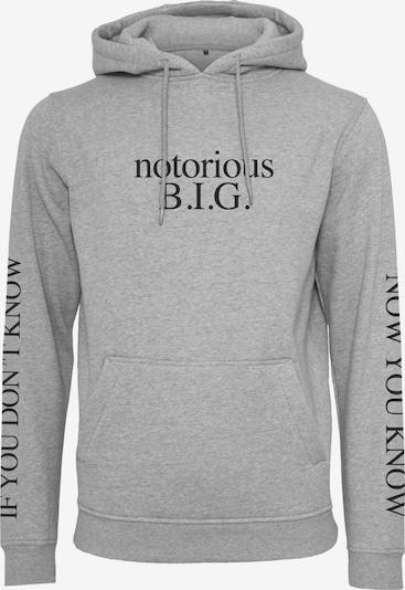 Mister Tee Sweater majica 'Notorious Big You Dont Know' u siva, Pregled proizvoda