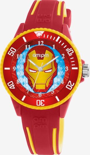 AM:PM Quarzuhr 'Marvel amazing Iron Man watch' in gelb / rot, Produktansicht