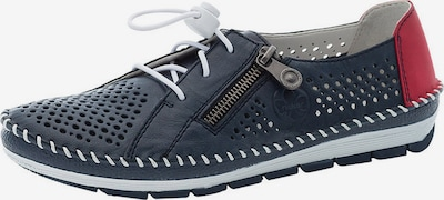 Scarpa stringata RIEKER di colore blu scuro / granatina, Visualizzazione prodotti