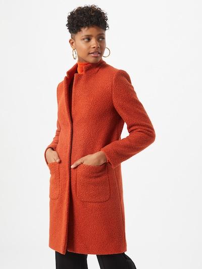 Rich & Royal Mantel in orangerot, Modelansicht