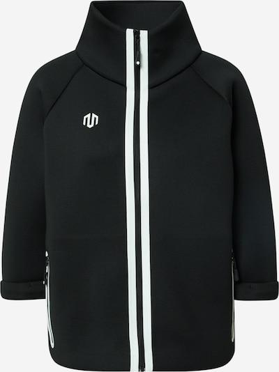 MOROTAI Sportjas 'Kimono' in de kleur Zwart / Wit, Productweergave