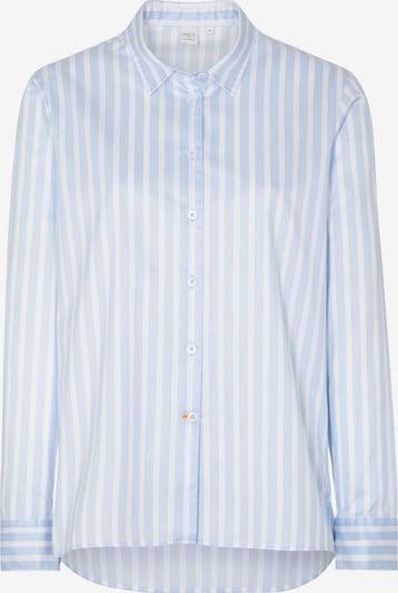 ETERNA Bluse in hellblau / weiß, Produktansicht