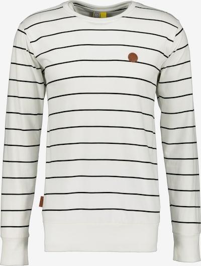 Alife and Kickin Shirt 'Samuel' in schwarz / weiß, Produktansicht