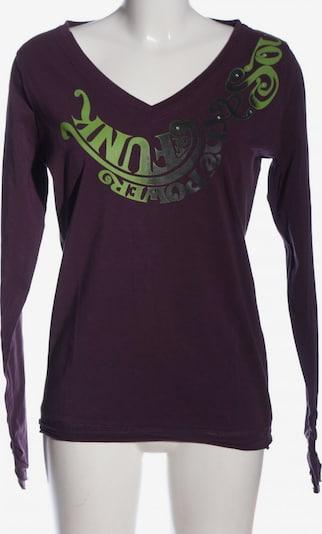 MYMO Print-Shirt in XXL in hellgrau / grün / lila, Produktansicht