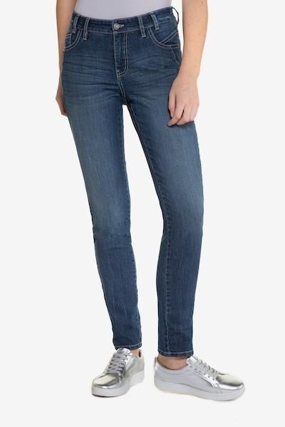 Gina Laura Jeans 'Julia' in blau, Modelansicht