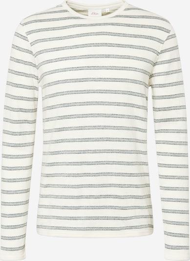 Tricou s.Oliver pe crem / gri / negru, Vizualizare produs