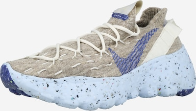 NIKE Sneaker 'Space Hippie 04' in creme / hellbeige / dunkelblau, Produktansicht