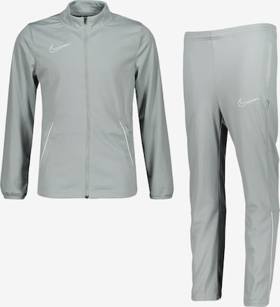 NIKE Trainingsanzug in grau / weiß, Produktansicht