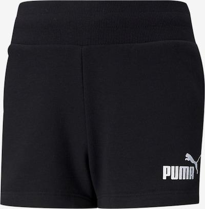 PUMA Pantalón en negro / blanco, Vista del producto