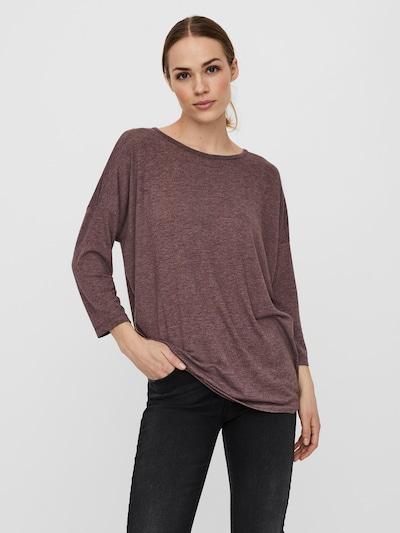 VERO MODA Shirt 'Carla' in Wine red: Frontal view