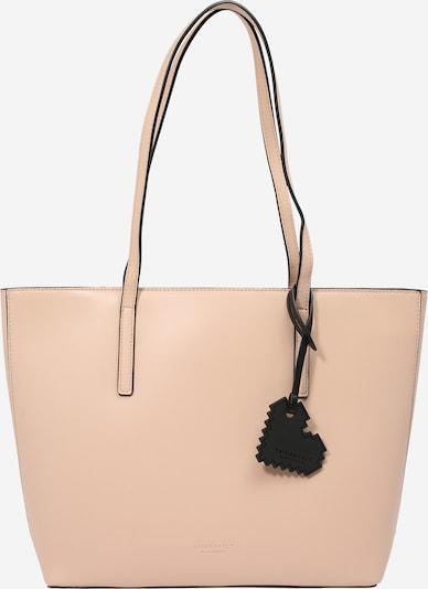 Seidenfelt Manufaktur Nakupovalna torba 'Lyngdal 2' | nude barva, Prikaz izdelka