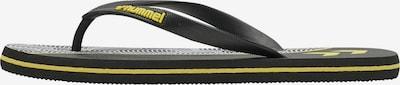 Hummel Teenslippers in de kleur Geel / Zwart, Productweergave