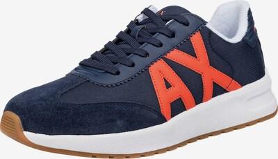 ARMANI EXCHANGE Sneakers Low in dunkelblau, Produktansicht