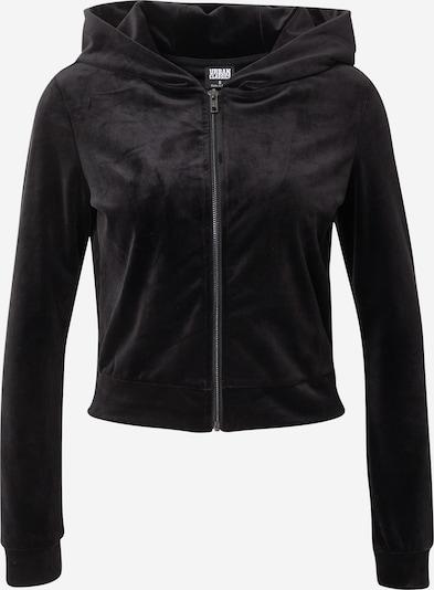 Urban Classics Sweatjacke in schwarz, Produktansicht