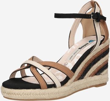 MTNG Sandale 'LOUISA' in Schwarz