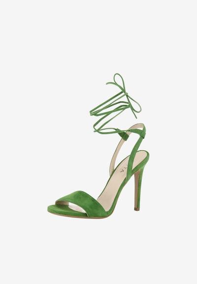 EVITA Sandalen met riem in de kleur Groen: Vooraanzicht