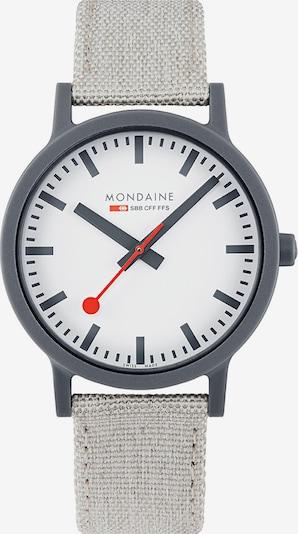 Mondaine Herren-Uhren Analog Quarz ' ' in grau, Produktansicht