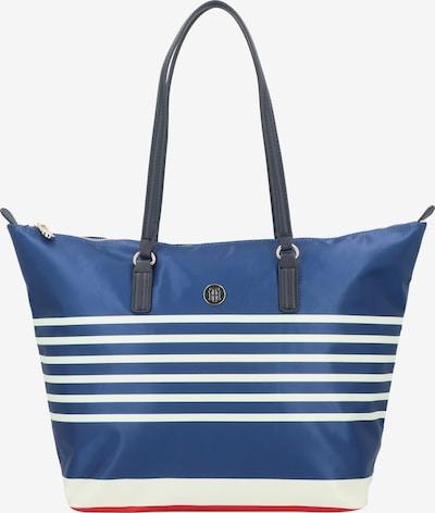 TOMMY HILFIGER Shopper 'Poppy' in de kleur Blauw / Wit, Productweergave