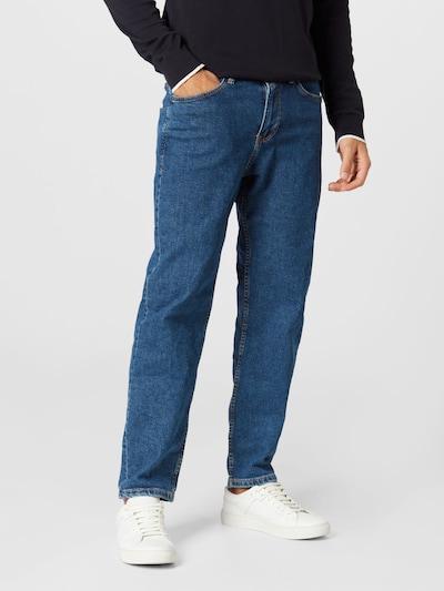 Jeans TOM TAILOR DENIM pe albastru denim, Vizualizare model