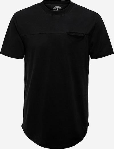 Tricou Only & Sons pe negru, Vizualizare produs