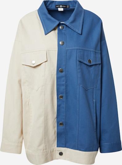 Daisy Street Jacke 'BOYFRIEND' in beige / blue denim, Produktansicht