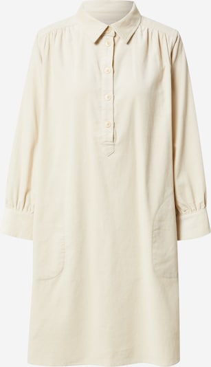 Rochie tip bluză 'Huan' Part Two pe alb lână, Vizualizare produs