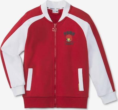 PUMA Outdoorjas in de kleur Rood / Wit, Productweergave