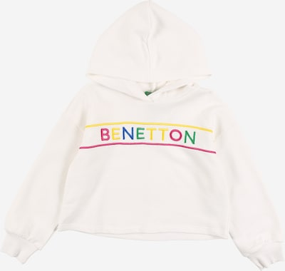 UNITED COLORS OF BENETTON Sudadera en mezcla de colores / blanco, Vista del producto