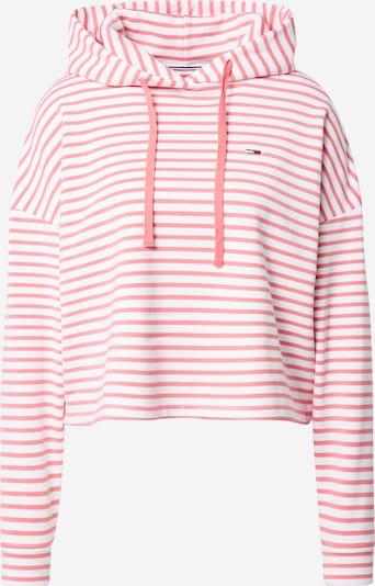 Tommy Jeans Sweatshirt in rosa / weiß, Produktansicht