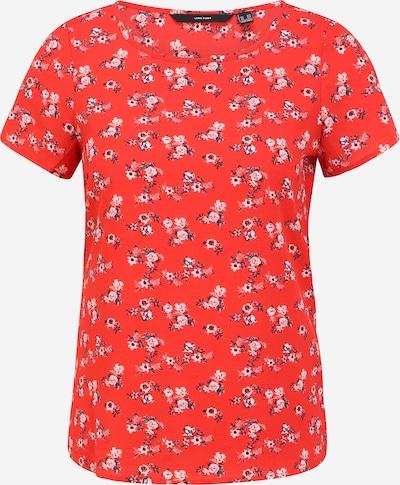 Vero Moda Petite Shirt 'SAGA' in de kleur Navy / Rood / Wit, Productweergave