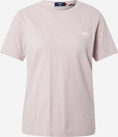 Superdry Shirt in puder / weiß, Produktansicht