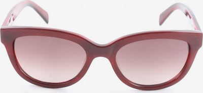 Calvin Klein ovale Sonnenbrille in One Size in rot, Produktansicht