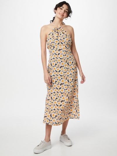 Cotton On Kleid 'HARPER' in gelb / orange / schwarz / weiß, Modelansicht