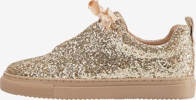 myMo at night Sneaker in gold, Produktansicht