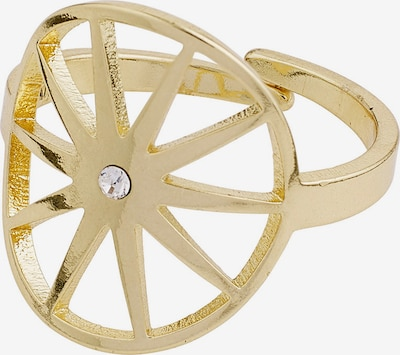 Pilgrim Bague 'Kaylee' en or / transparent, Vue avec produit