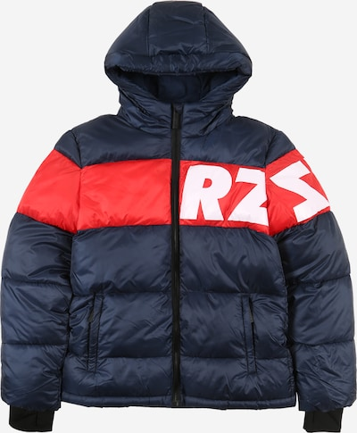 Raizzed Jacke 'Tacoma' in dunkelblau / rot / weiß, Produktansicht
