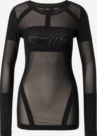 DIESEL T-shirt 'T-AITEN' en noir, Vue avec produit