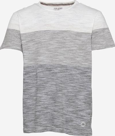 BLEND Тениска в сиво / Грейдж / бяло, Преглед на продукта