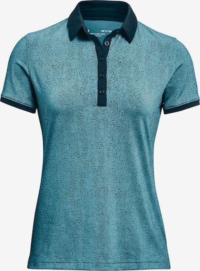 UNDER ARMOUR Functioneel shirt 'Zinger' in de kleur Turquoise / Donkerblauw, Productweergave