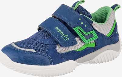 SUPERFIT Sneaker 'Storm' in navy / hellgrau / limette, Produktansicht