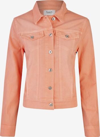 Angels Between-Season Jacket in Orange