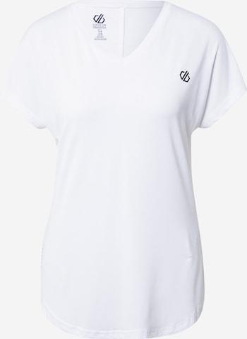 DARE2BTehnička sportska majica 'Vigilant' - bijela boja