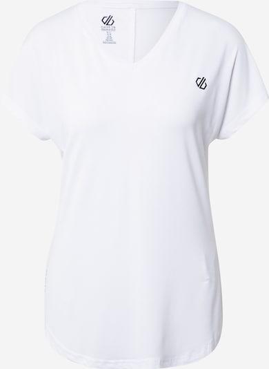 DARE2B T-shirt fonctionnel 'Vigilant' en noir / blanc naturel, Vue avec produit