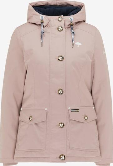 Schmuddelwedda Winterjacke in rosa, Produktansicht