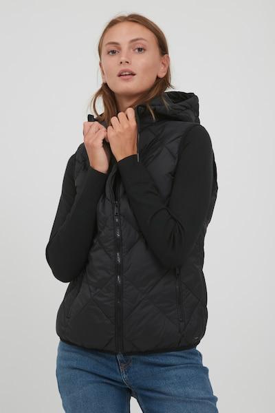 b.young Steppweste 'BYAMALIA' in schwarz, Modelansicht