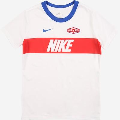 NIKE Functioneel shirt in de kleur Rood / Wit, Productweergave
